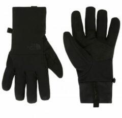 The North Face - Apex+ Etip Glove - Handschoenen maat S, zwart/grijs/grijs/oranje/zwart/olijfgroen/rood/purper/zwart/grij
