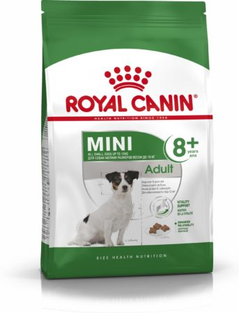 Afbeelding van ROYAL CANIN® Royal Canin Mini Adult 8+ - Hondenvoer - 8 kg