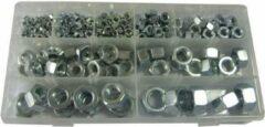 JBM Tools | Assortimentendoos set van moeren 243-Delig | M3 t/m M16