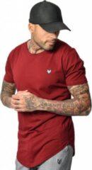 Rode YCLO T-Shirt Kjeld Bordeaux