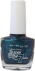 Blauwe Maybelline Super Stay Nagellak - 863 Aqua Daze