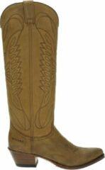 Sendra 8840 Lia dames cowboylaars - Cognac - Maat 37