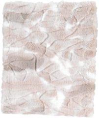 Zandkleurige Dutch Decor Plaid Roel 130x170 cm zand multi