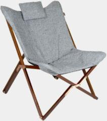 Grijze Bo-Camp Urban Outdoor Campingstoel - Relaxstoel - Bloomsbury