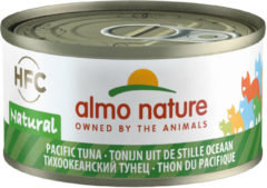 Almo Nature Hfc Cat Natural Blik 70 g - Kattenvoer - Tonijn Stille Oceaan Hfc