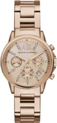 Emporio Armani Armani Exchange Rosékleurig Vrouwen Horloge AX4326
