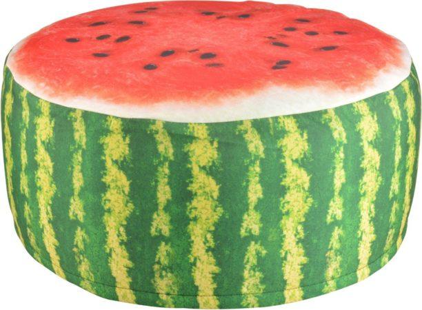 Afbeelding van Rode Esschert design Tuinpoef Opblaasbaar - Waterbestendig - Watermeloen