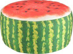 Rode Esschert design Tuinpoef Opblaasbaar - Waterbestendig - Watermeloen