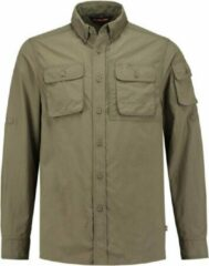 Groene Life-Line Guide Overhemd - Heren Outdoor Blouse - Anti-Insect Werking