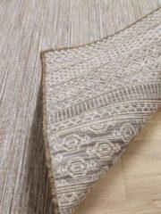 Pergamon In- und Outdoor Teppich Beidseitig Flachgewebe Hampton Taupe... 80x150 cm