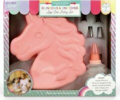 Roze Handstand Kitchen Eenhoorn Bakvorm Set
