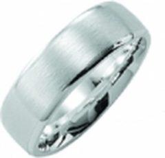 Zilveren Kiss Me ring zilver mat-hoogglans KM119 maat 58
