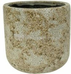 Beige Ter Steege Pot Thirza cognac bloempot binnen 19 cm