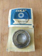 Zwarte Oplos Scooters SKF LAGER 6004 2Z /QE6 Inwendige diam.: 20 Uitwendige diam.: 42 Breedte: 12 mm