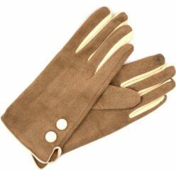 Winter handschoenen Bella van BellaBelga - licht bruin