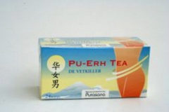 Mattisson Pu Erh Tea Builtjes (20st)