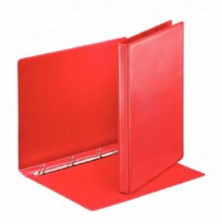 Afbeelding van Rode Esselte personaliseerbare ringmap, rug van 3 cm, 4 O-ringen van 16 mm, rood