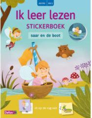 Ik leer lezen stickerboek: Ik leer lezen Stickerboek - Saar en de boot (AVI M3 / AVI 1) - Carine AERTS