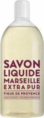 Compagnie de Provence Savon de Marseille vloeibare handzeep Extra Pur Figue de Provence 1 liter navulling