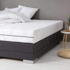 Witte SleepTech 70x200 Luxe Pocketveer matras koudschuim HR 20 cm