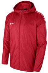 Stylishe Regenjacke Park 18 mit dreiteiliger Kapuze AA2090-302 Nike University Red/White