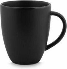 Zwarte Vtwonen vtwonen Servies Mug with ear Matt black | 250 ml