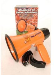 Oranje PartyXplosion - Megafoon - Hup holland hup - Met sirene ''olé olé''