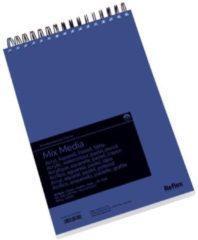 Witte Schoellershammer Reflex studioline MixMediapapier, 300gr, A4 spiraalblok, 30 vel