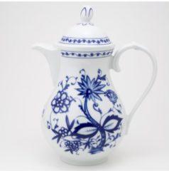 Kaffeekanne Zwiebelmuster Kahla Weiß, Blau