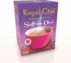 Royal Chai Royalchai Saffron, gezoet. Per 4 doosjes (a 10 sachets)