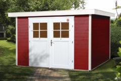 WEKA | Tuinhuis 227 Gr.3 | 295x239 cm | Zweeds rood