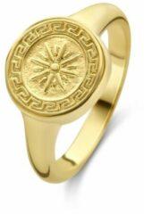 Violet Hamden Athens 925 Sterling Zilveren Goudkleurige Ring VH33001-54 (Maat: 54)