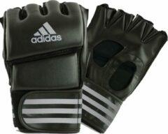 Adidas Grappling Training Handschoenen Zwart/Zilver Large