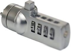 Sweex PA203 Notebook Combinatie Lock - Zilver