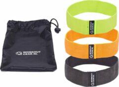 Grijze Workout Gear ® Workout Gear - 3 Weerstandsband Set - 11-16kg - Inclusief handleiding