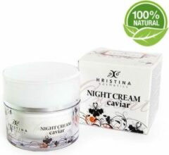 Hristina Caviar Bio Nacht Creme Anti-Age - Met Retinol en Hyaluronzuur - 50 ml