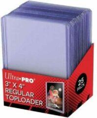 Transparante Merkloos / Sans marque Toploaders - Ultra Pro 3x4 // 76,2 x101,6mm (25ct) x1 - Top loader - Toploader - TCG - Trading Card Game - Ultra Pro - Regular Toploader