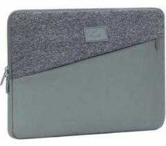 Grijze Riva Case Rivacase Egmont Laptop Sleeve 13.3 inch Grey