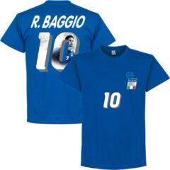 Retake Italië 1994 Baggio 10 Gallery T-Shirt - Blauw - XXL
