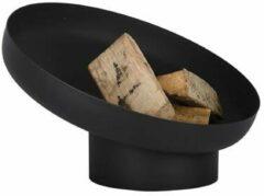 Zwarte Esschert Design Esschert Vuurschaal Hellend Staal