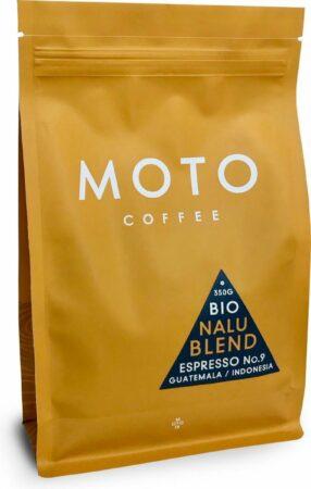 Afbeelding van Moto Coffee Nalu Blend Koffiebonen - 350 gram - biologisch