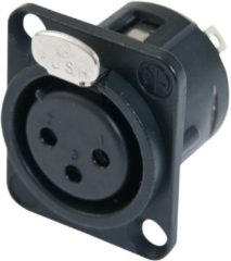 NEUTRIK XLR mounting socket 3pin NC3FDL-1-BAG