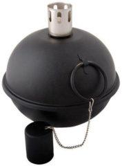 Esschert design Tuimeltoorts lampenolie brander zwart 20x20 cm