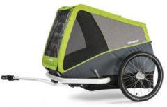 Croozer - Croozer Dog Jokke - Aanhangwagen grijs/zwart