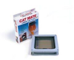 Catmate Kattendeur 221 - Kattenluik - Bruin - Groot