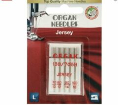 Zilveren Organ Needles 5 Jersey naalden 70-100