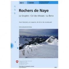 Swisstopo - 262 S Rochers de Naye - Skitourgidsen Ausgabe 2007