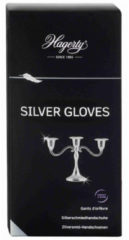 Zwarte Hagerty Silver Gloves, Silversmiths gloves to clean and maintain silver and silver-plated items