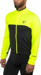 PEARL iZUMi Select Fietsshirt lange mouwen Heren geel/zwart Maat S