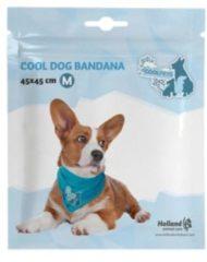 Blauwe Coolpets Koelbandana Petrol - Hondenverkoeling - Medium